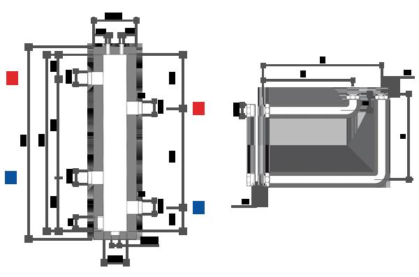 Гидрострелка 50 квт чертежи